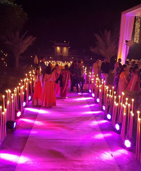 entrance decoration for wedding